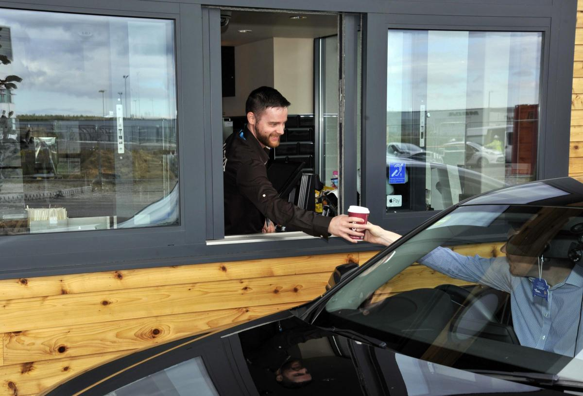 New Drive Through Costa Offers Customers Free Coffee At