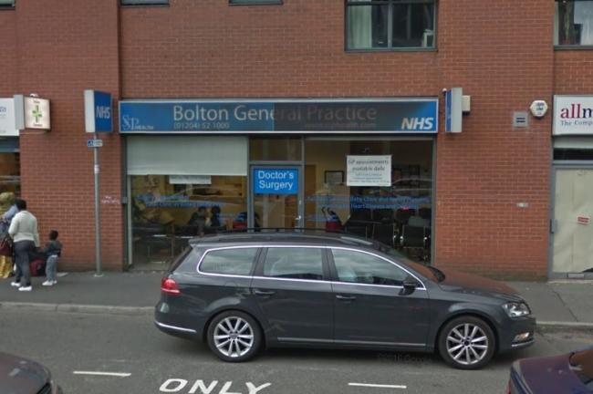 RATED: Bolton General Practice in Marsden Street is 'outstanding'. PICTURE: Google Maps