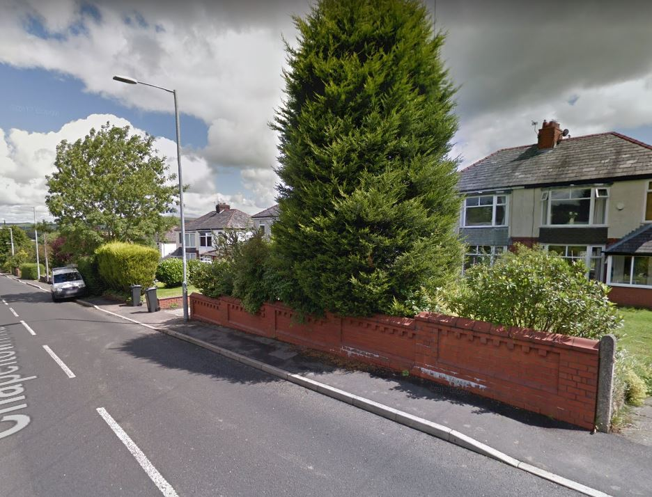 ORDEAL:  Chapeltown Road. Picture from Google Maps