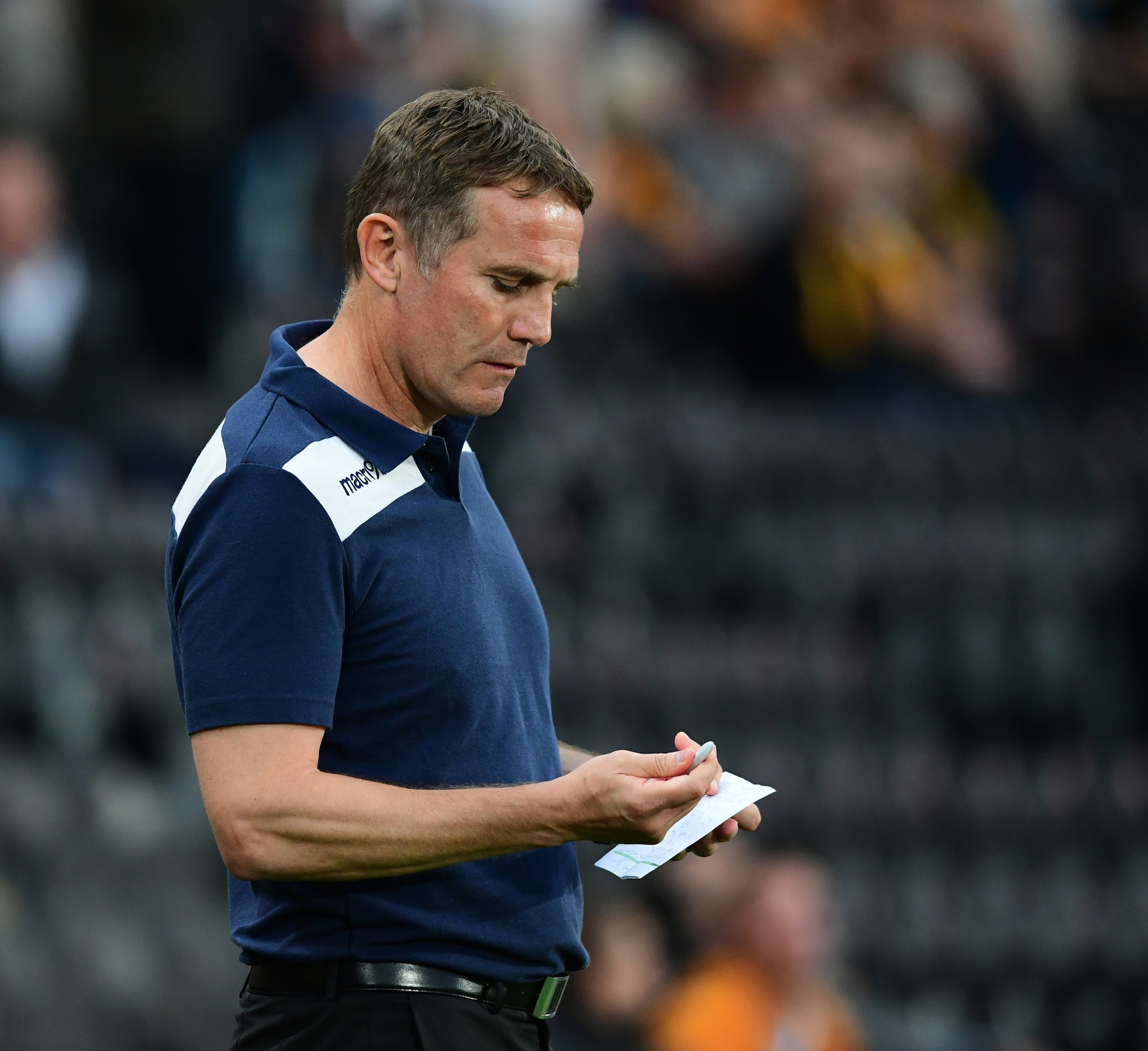 Parkinson offers apology for Hull City defeat