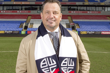 Dean Holdsworth back in football after Italian takeover