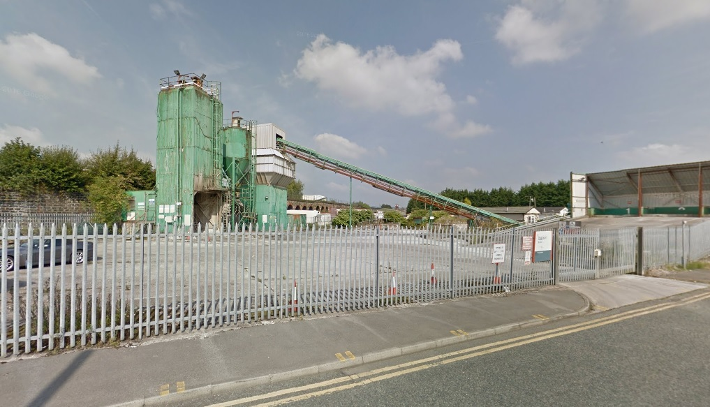 The Hanson concrete plant in Mill Hill Street, Bolton. Picture: Google Maps