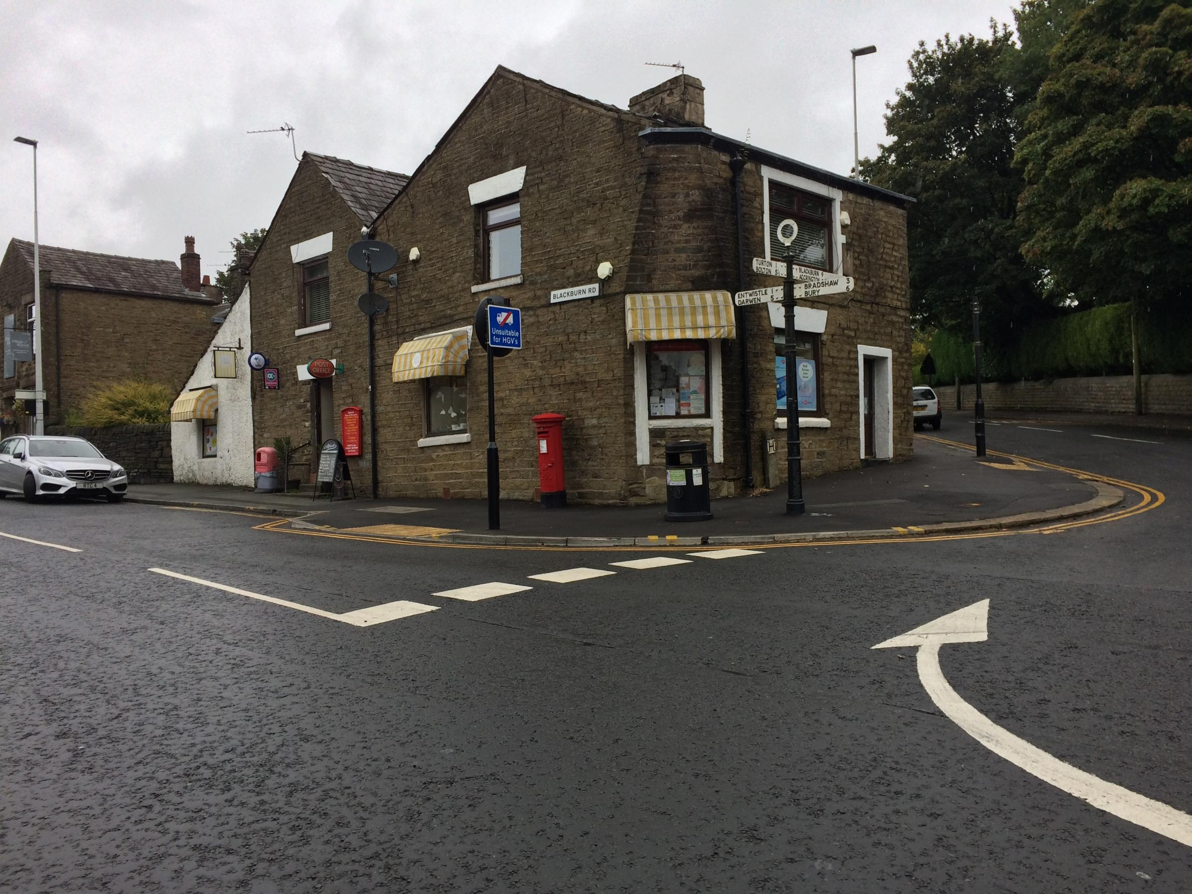 RAID: Terrifying armed robbery at Edgworth Post Office