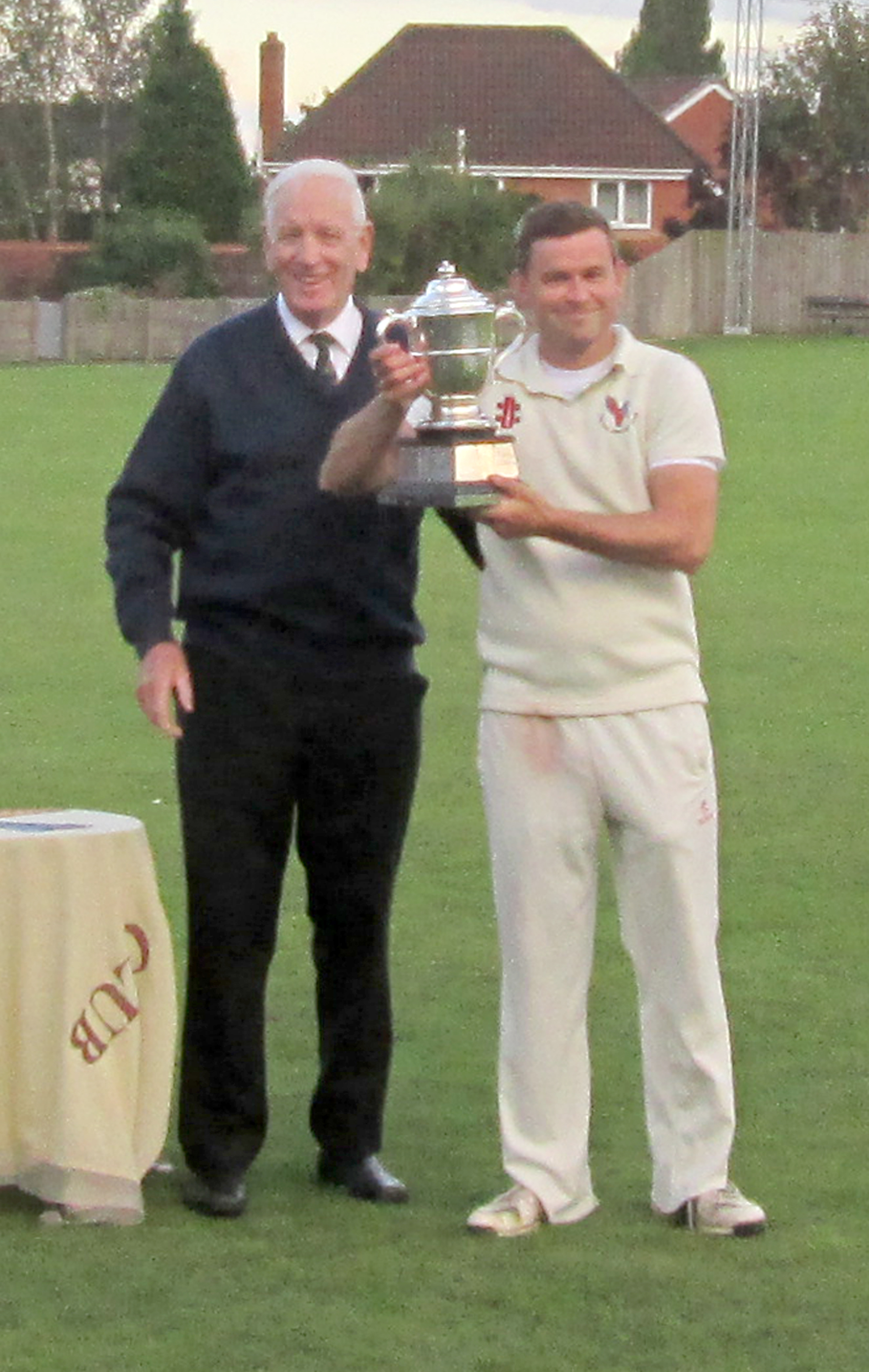 Cricket Cross Cup winners 2017 Clifton captain Gareth Cross.jpg