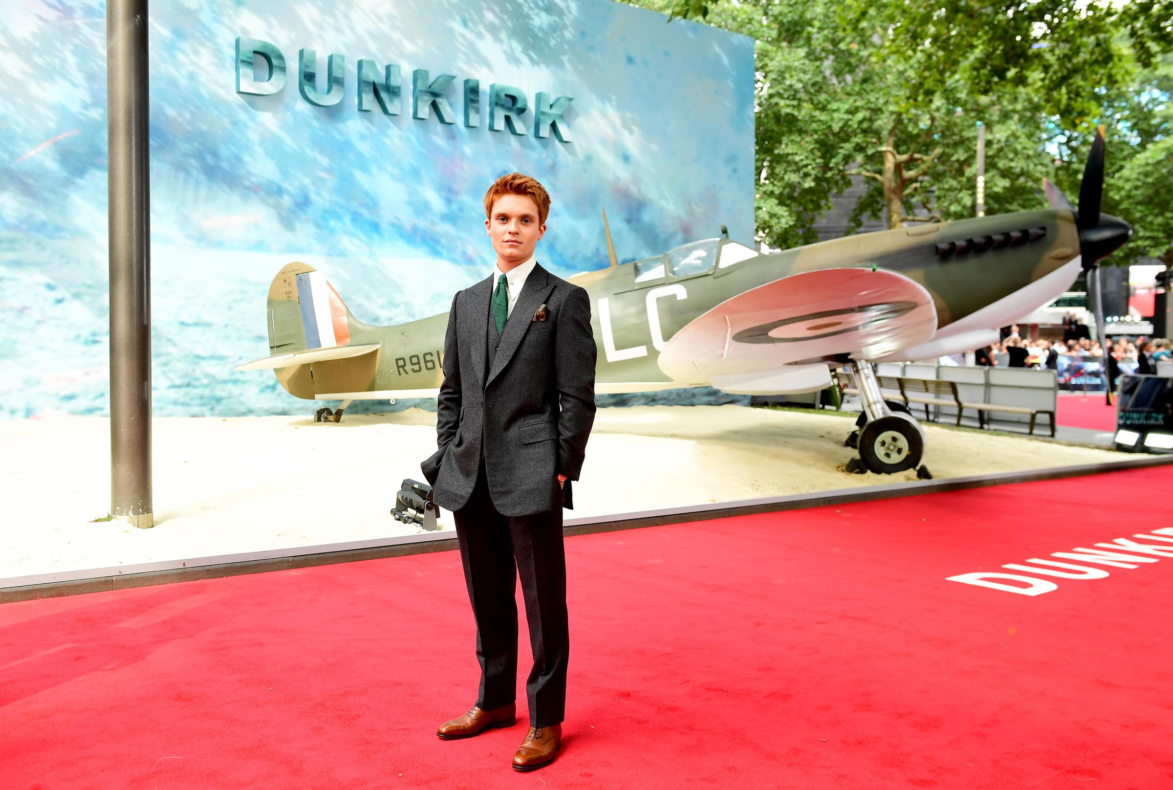 Tom Glynn-Carney attending the Dunkirk world premiere at the Odeon Leicester Square, London.