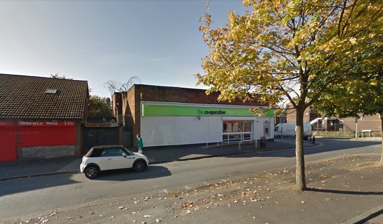Co-op at Highfield Road, Farnworth