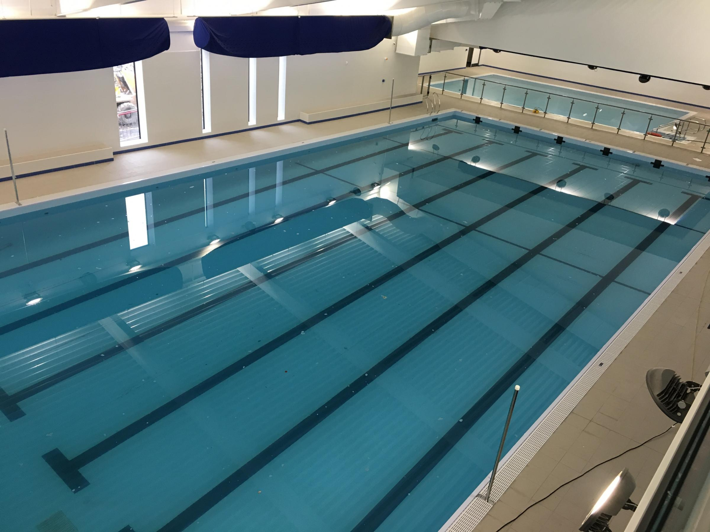TOUR: First look at the nearly-completed Horwich Leisure Centre (swimming pool)