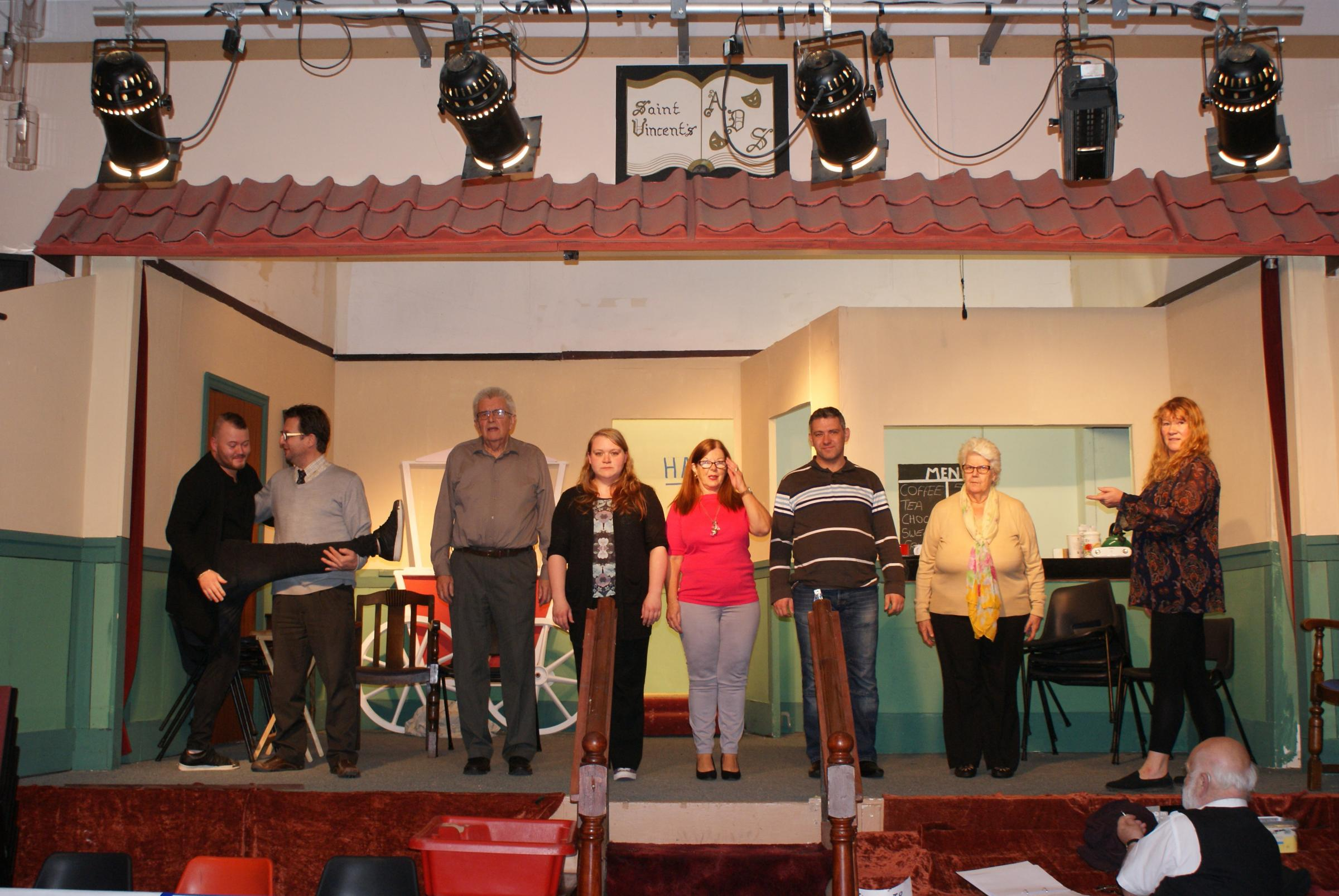 St Vincent's Dramatic Society get ready to stage Out of Focus