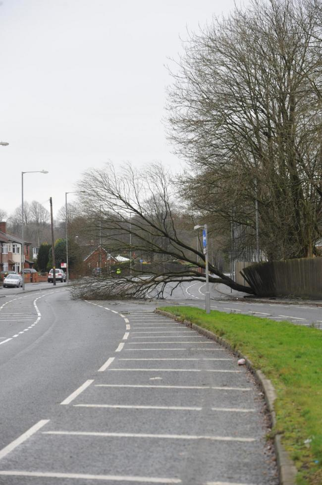 Met Office weather warning of strong winds for Greater