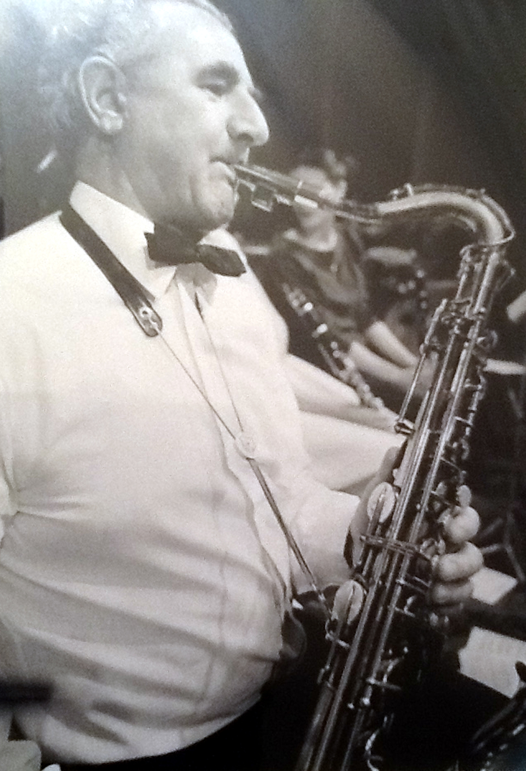 Geoff Gething was believed to be the last surviving member of the Palais de Danse band