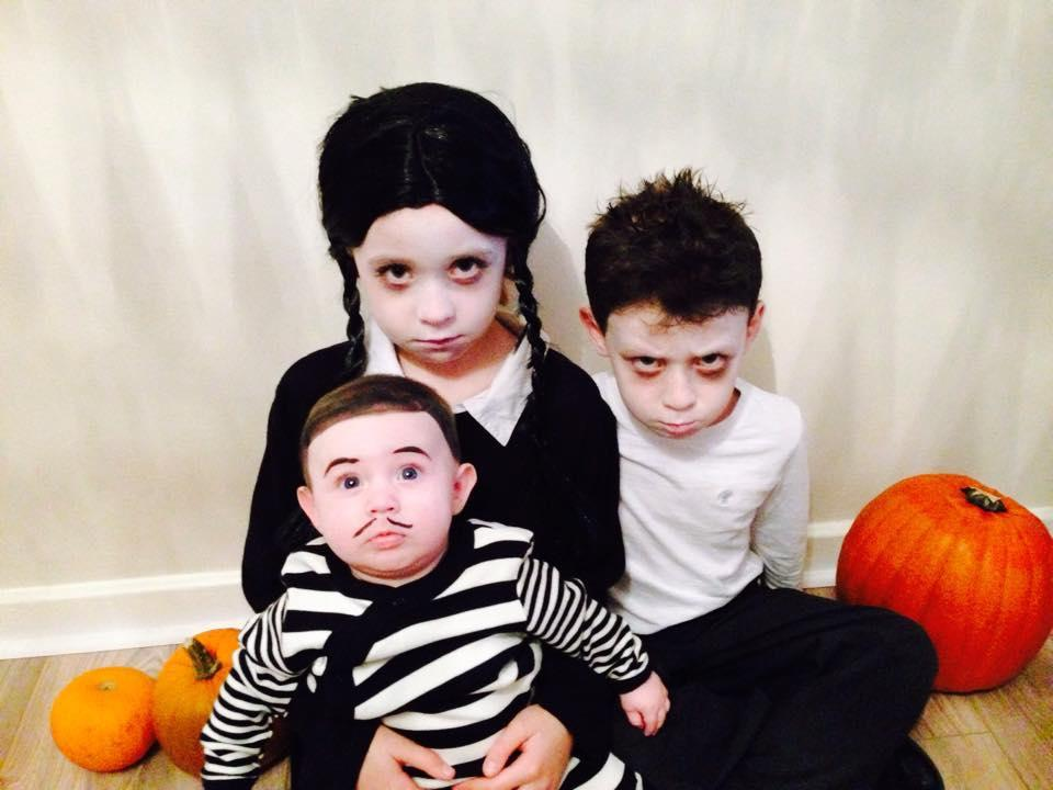 OUTFITS: Send us a picture of your child's Halloween outfit to feature in our creepy kids gallery