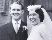 Eric and Jean Davies - (nee Egan)