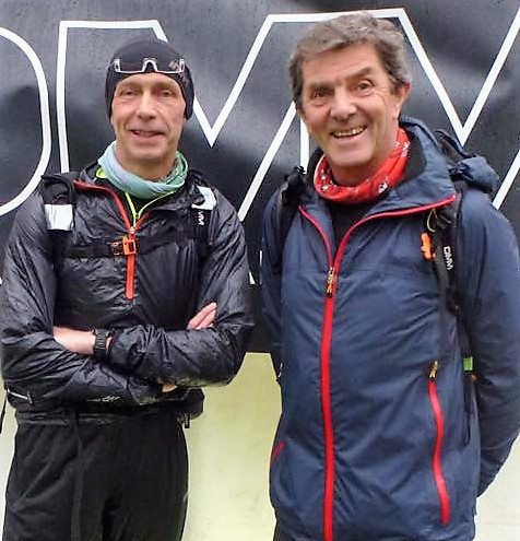 MOUNTAIN MEN: Burnden's Alec Cottrill, left, and Horwich RMI's Stephen Pearson at the OMM in Langdale
