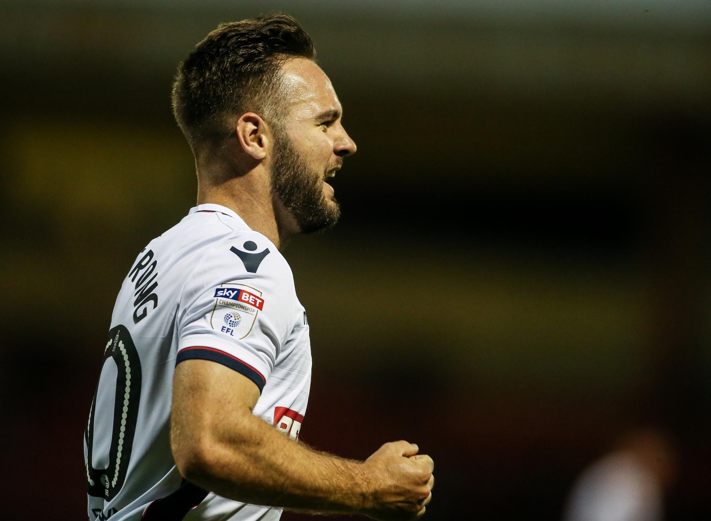 Adam Armstrong has scored against Crewe and Sheffield Wednesday in the Carabao Cup this season