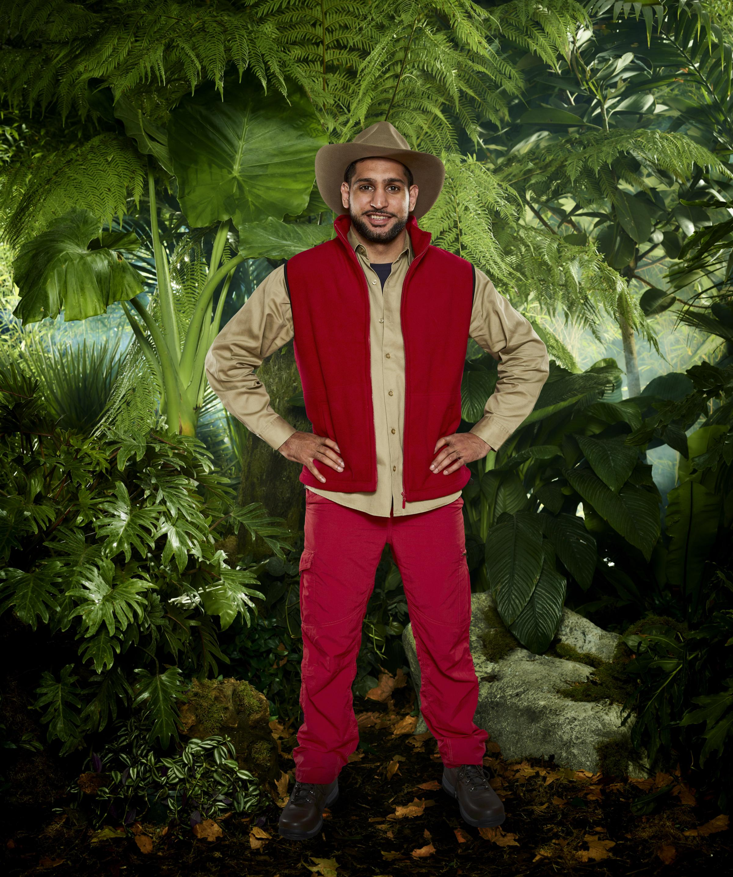 REALITY SHOW: Amir Khan ready for I'm A Celebrity... Get Me Out Of Here 2017