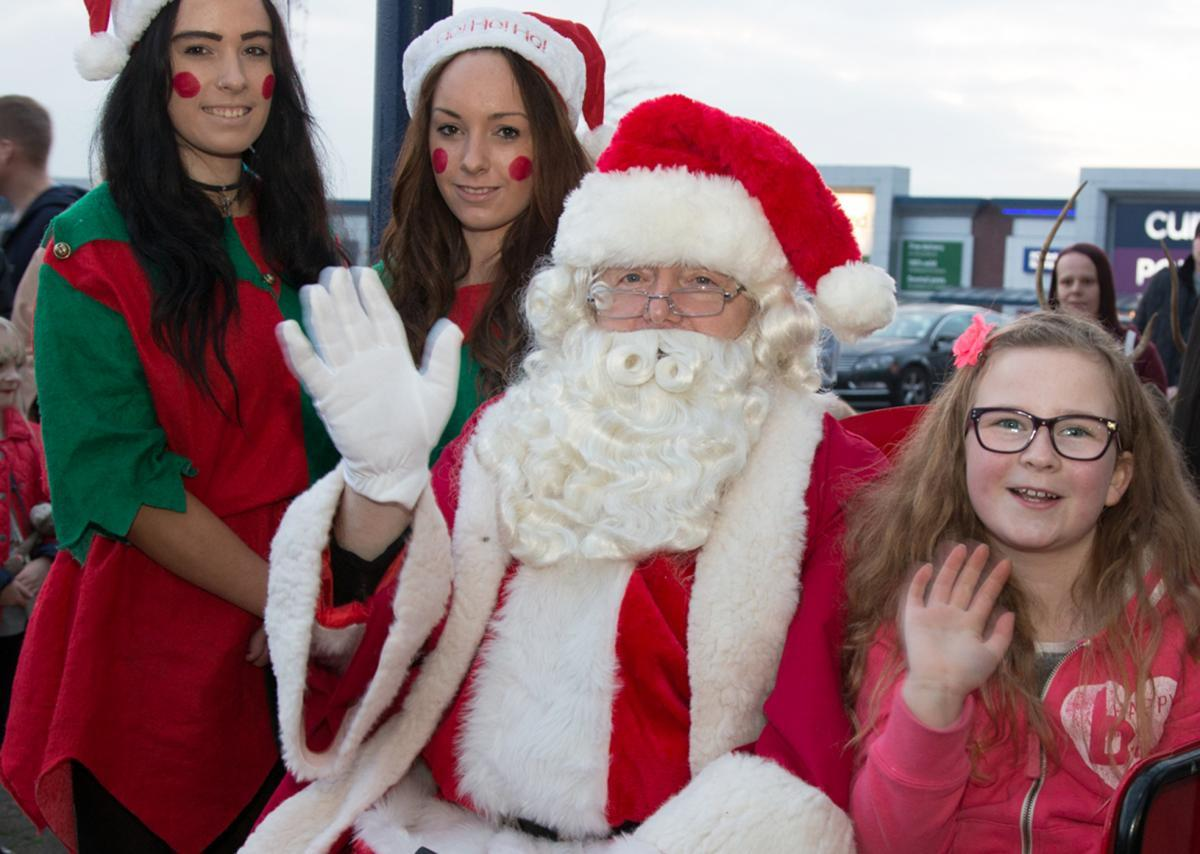 CHRISTMAS: Santa will be at the Middlebrook on Saturday