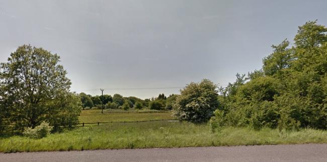 Hartley's Farm in Wingates Lane, Westhoughton, which is the site of a 58-home application Picture Google Maps