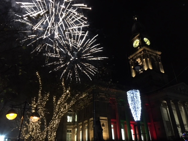 Bolton Christmas lights switch-on 2017