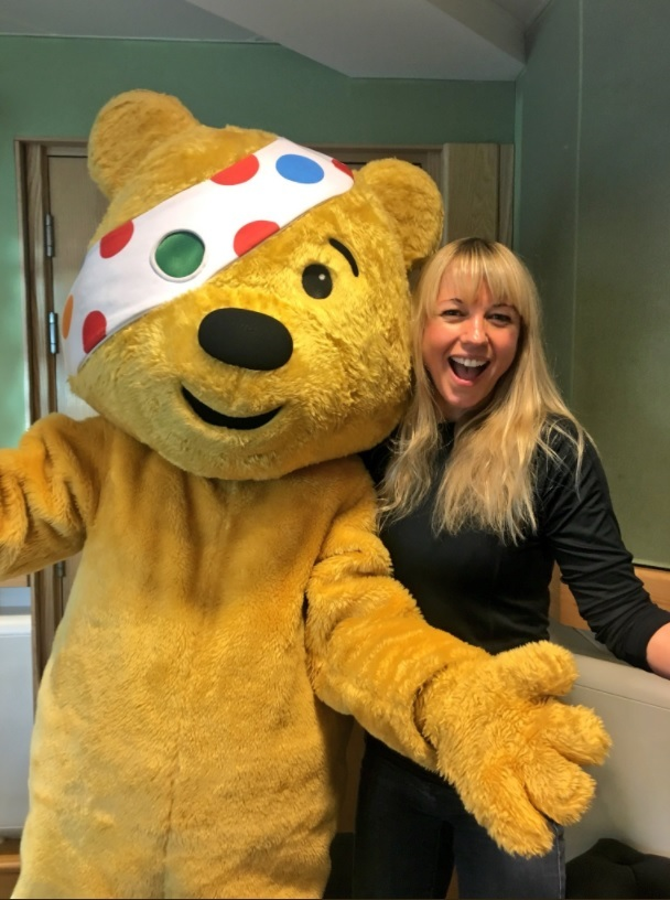 Sara Cox took over BBC Radio 2 for the morning as part of the Children in Need events. PICTURE: Twitter @sarajcox