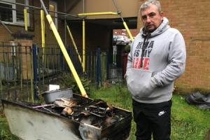 'I am absolutely devastated' - Man loses everything after fire tears through flat