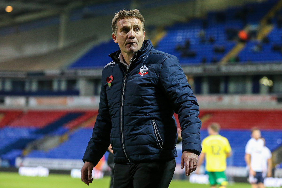 BEATING THE ODDS: Phil Parkinson is out to upset the Championship leaders today