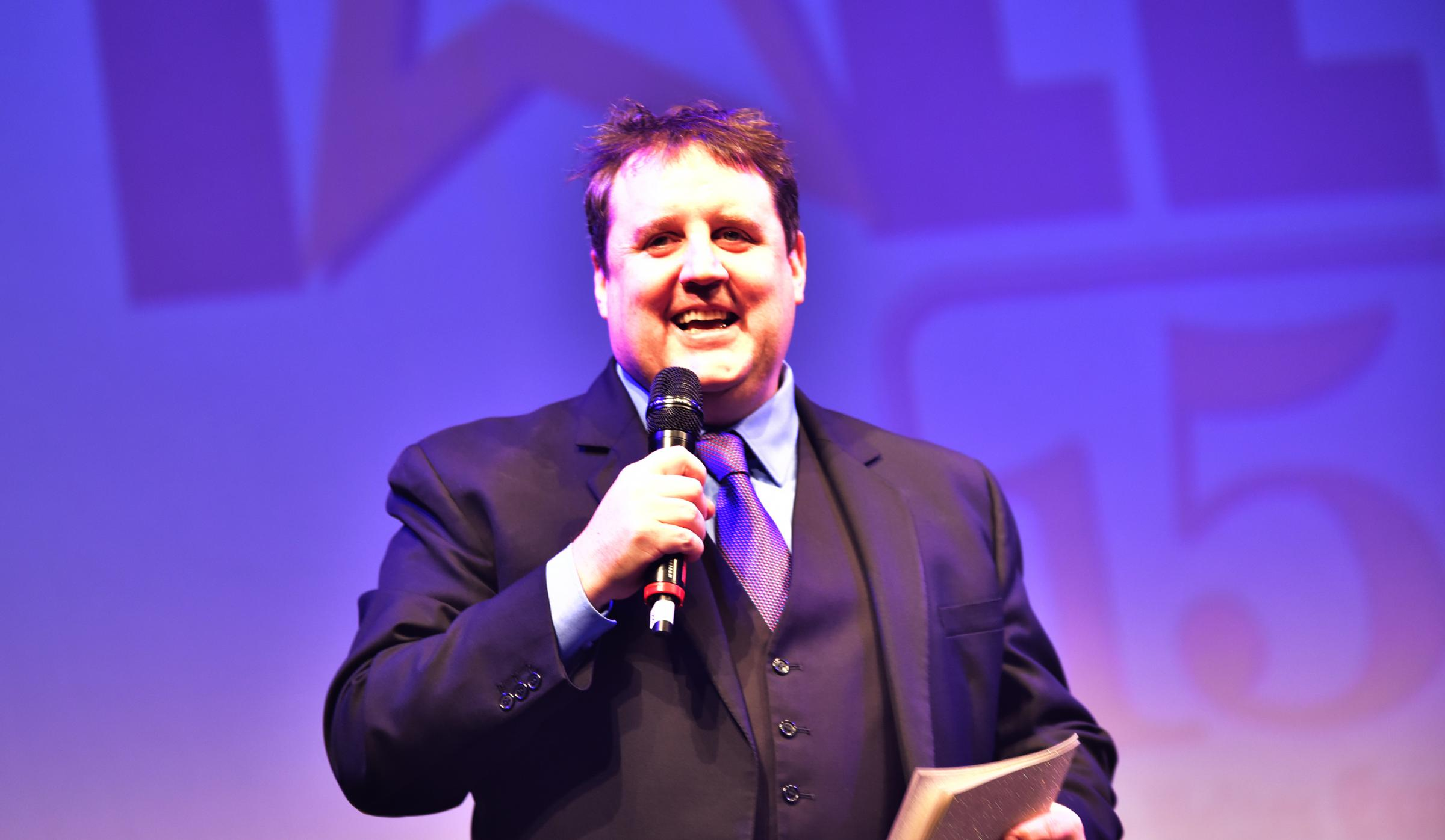 BREAKING: Peter Kay during the Bolton News' 150th anniversary party on December 1, 2017