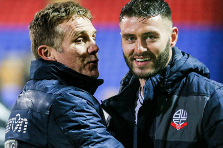 Gary Madine, right, is a wanted man in the Championship