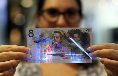 Image result for banknotes star wars release