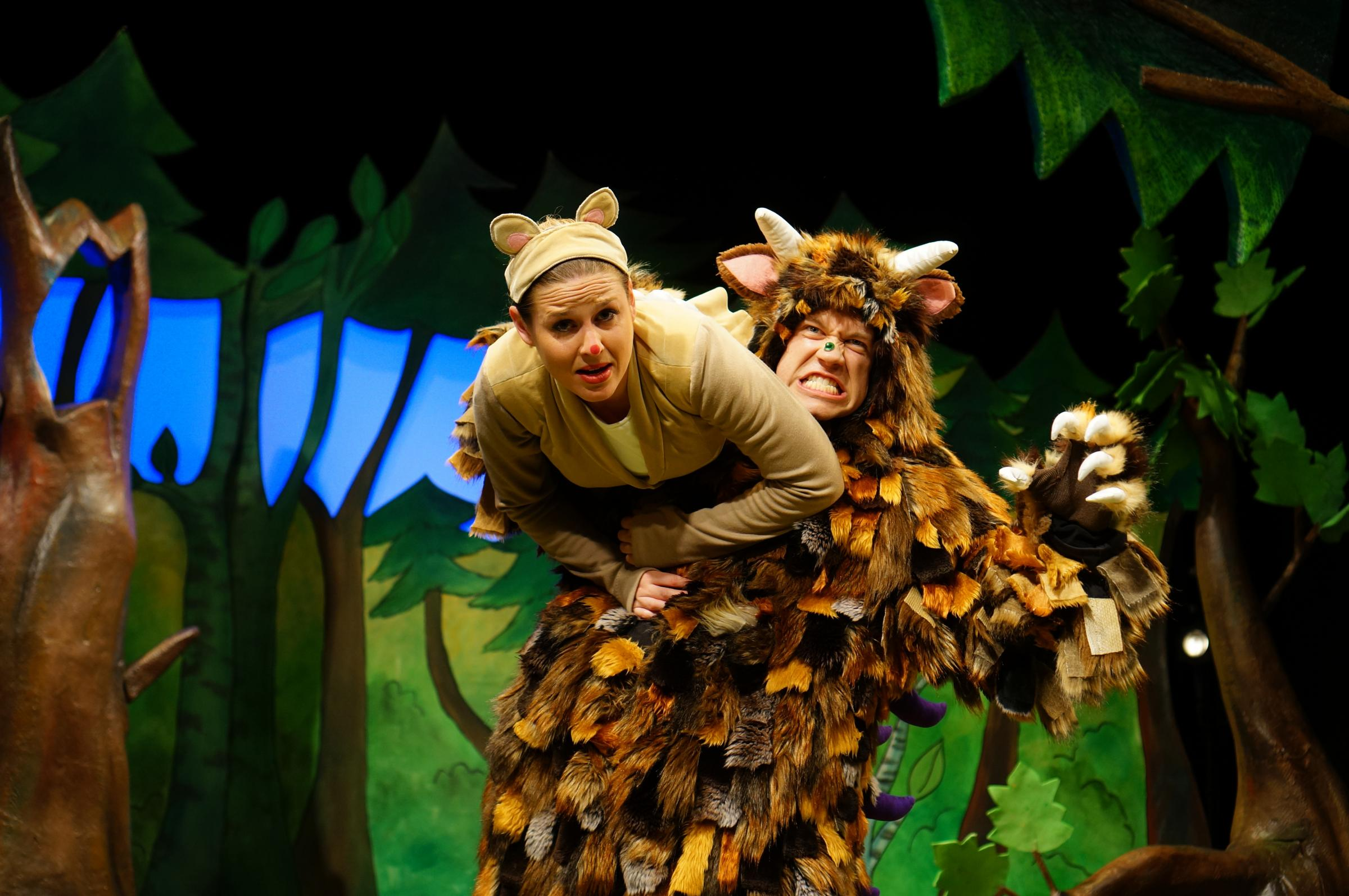 Aaron Millard as The Gruffalo and Mouse, Lauren Scott-Berry