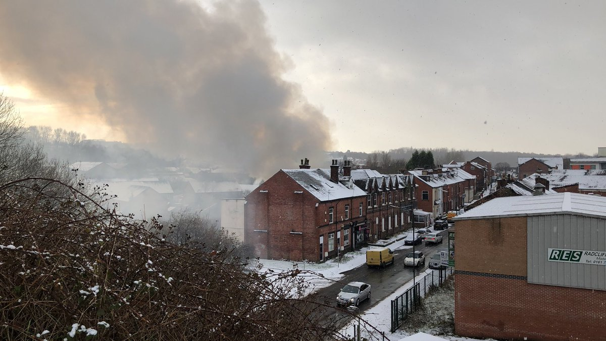 Fire in Radcliffe