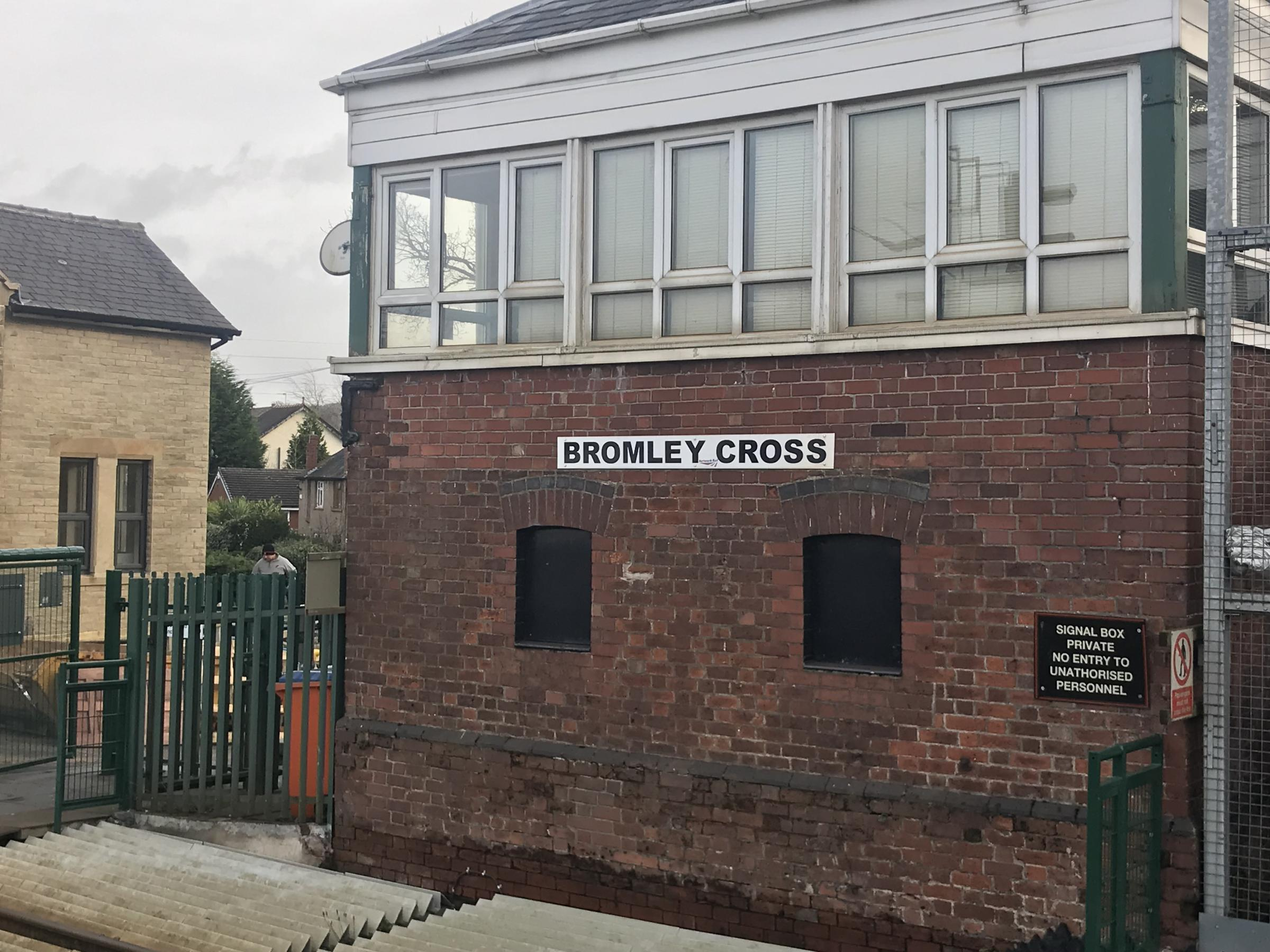 Bromley Cross station