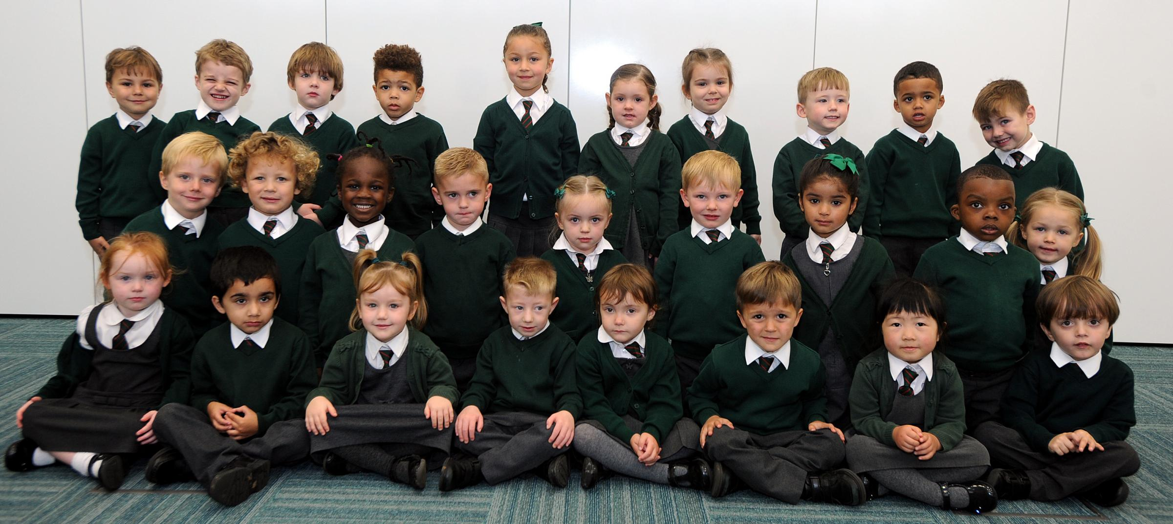 TOGETHER: St Thomas of Canterbury RC school class CPhotographers from the Bolton News are taking pictures in Bolton's primary schools every week. If you would like us to take pictures at your school, call our picture desk on 01204 537265.
