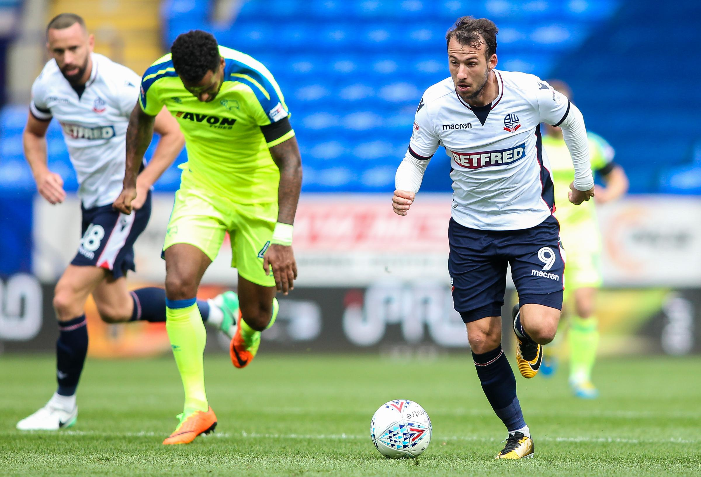 SITTING IT OUT: Adam Le Fondre did not make the bench for the trip to Middlesbrough