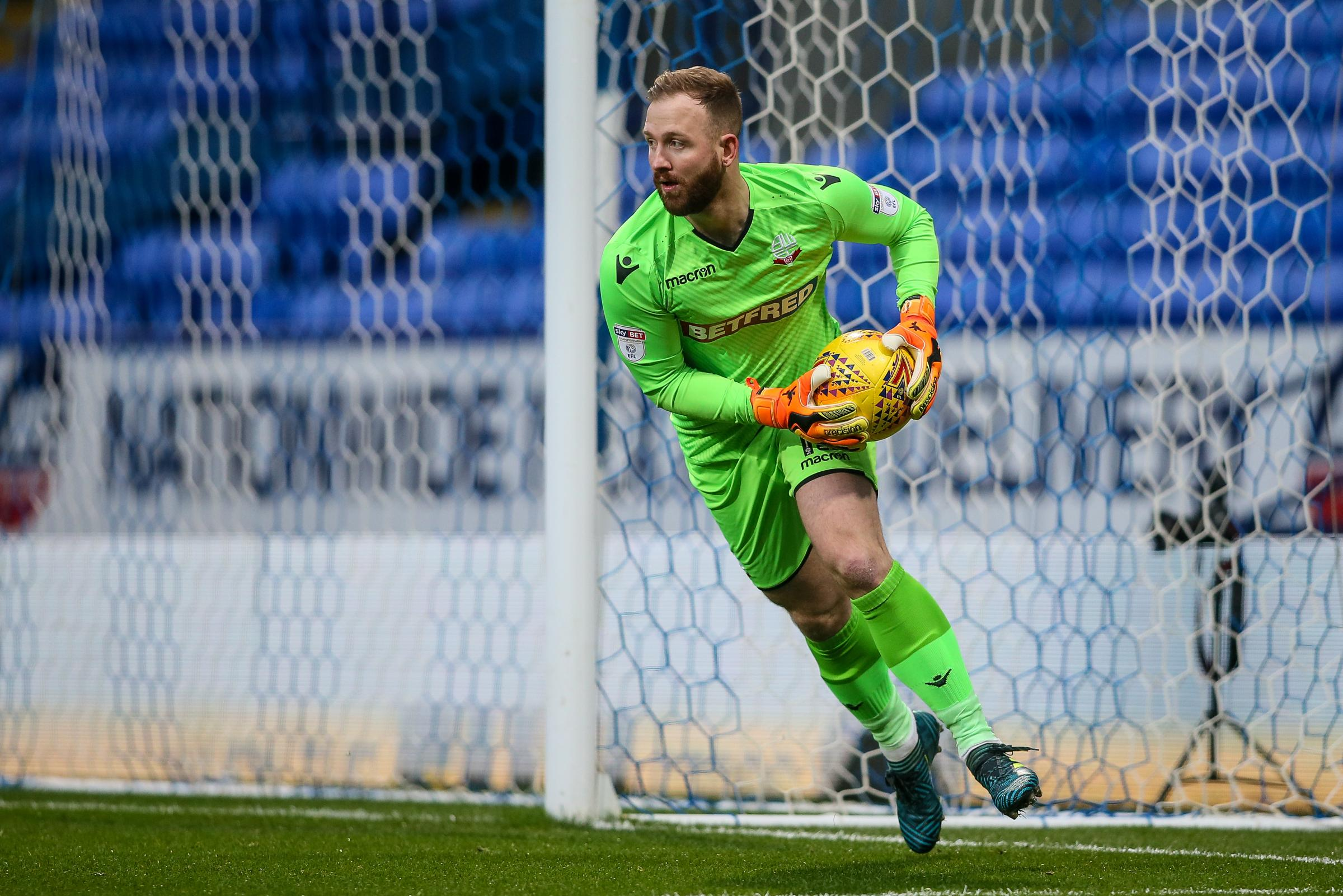 NET RESULTS: Ben Alnwick, pictured, and Mark Howard have kept just three clean sheets between them this season