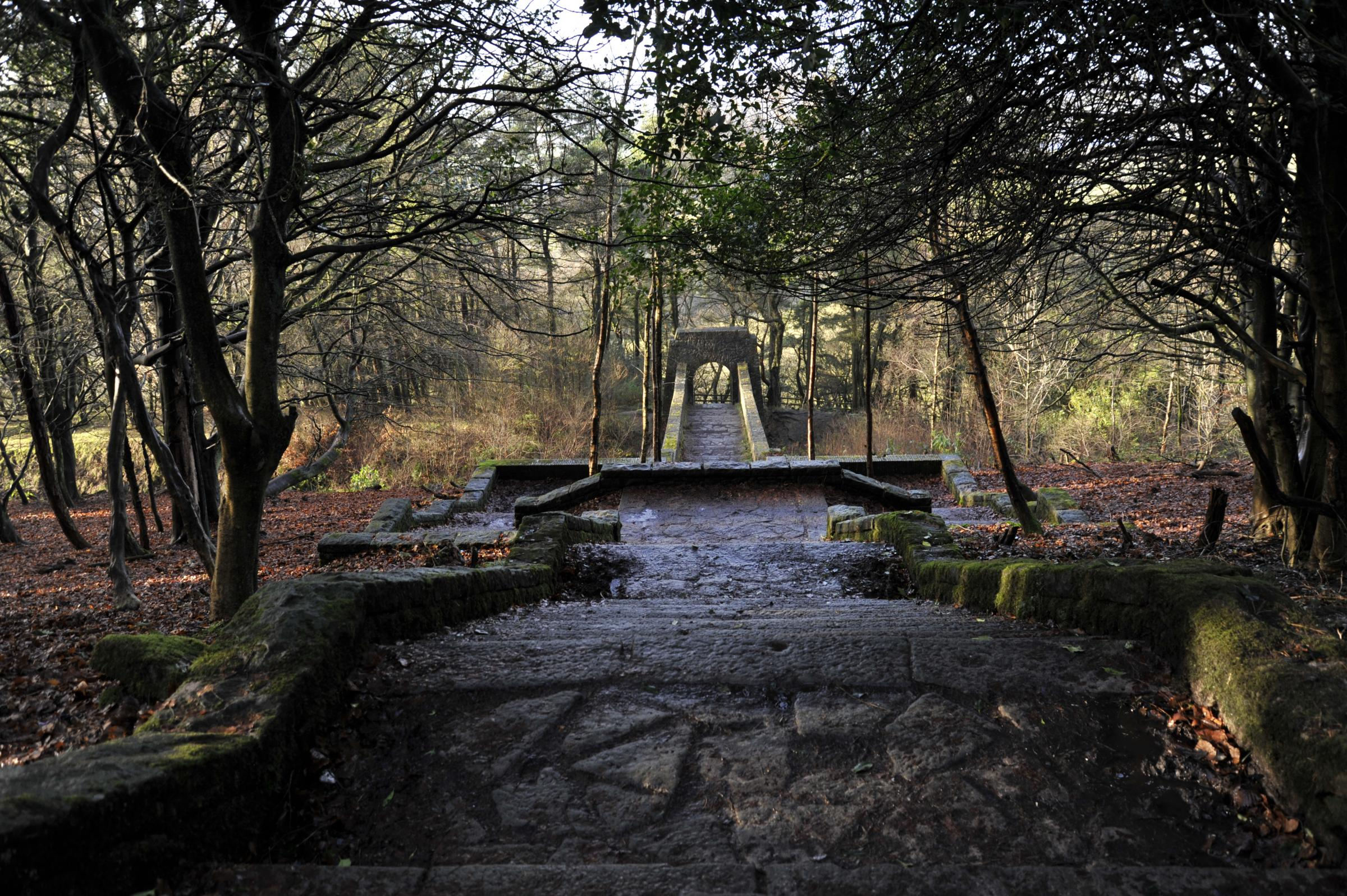 CONSERVATION: Part of Rivington Terraced Gardens