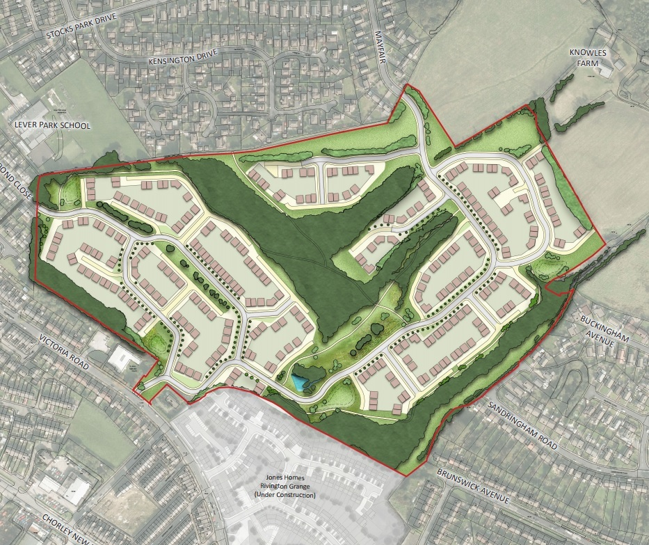 Peel's plans to build 300 homes at Horwich Golf Course