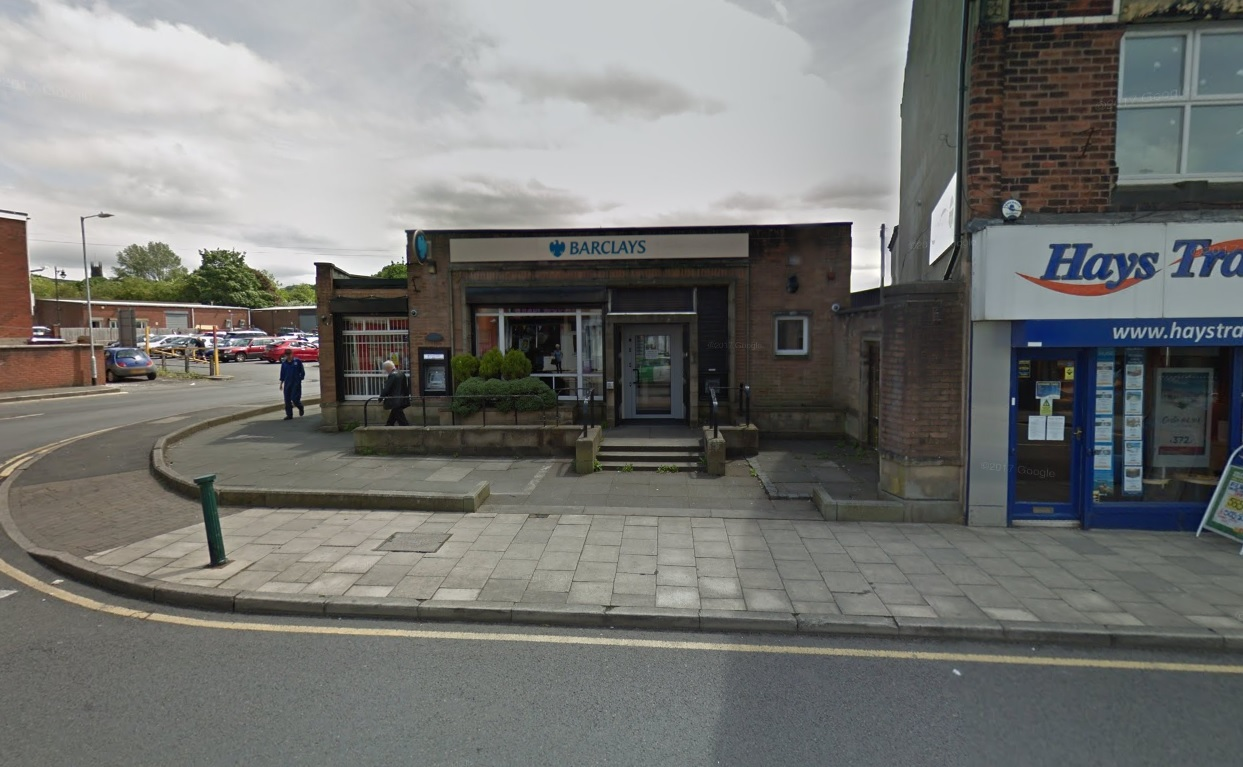 CLOSING: Barclays in Horwich will close in April Picture Google Maps