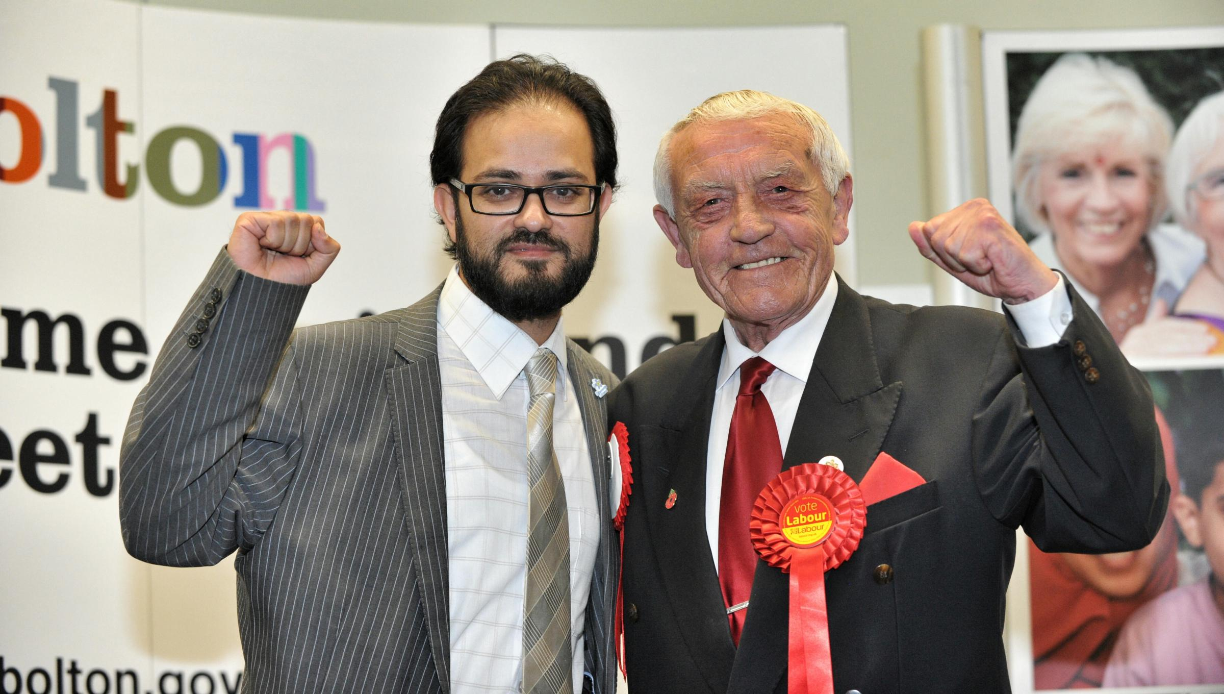 Cllr Asif Ibrahim, left, resigned last month