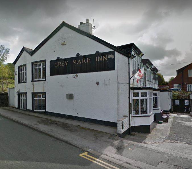 OPEN: Grey Mare Inn in Harwood. Picture from Google Maps