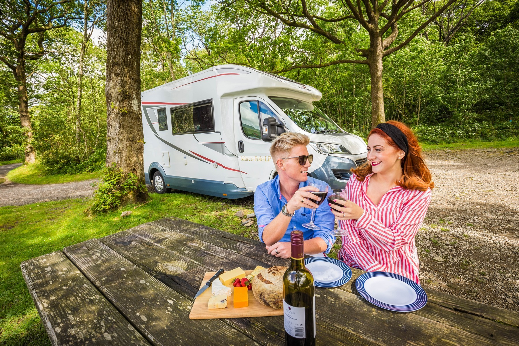 Motorhome from Freedhome Luxury Motorhome Hire, Photo: Dandelion Photography UK