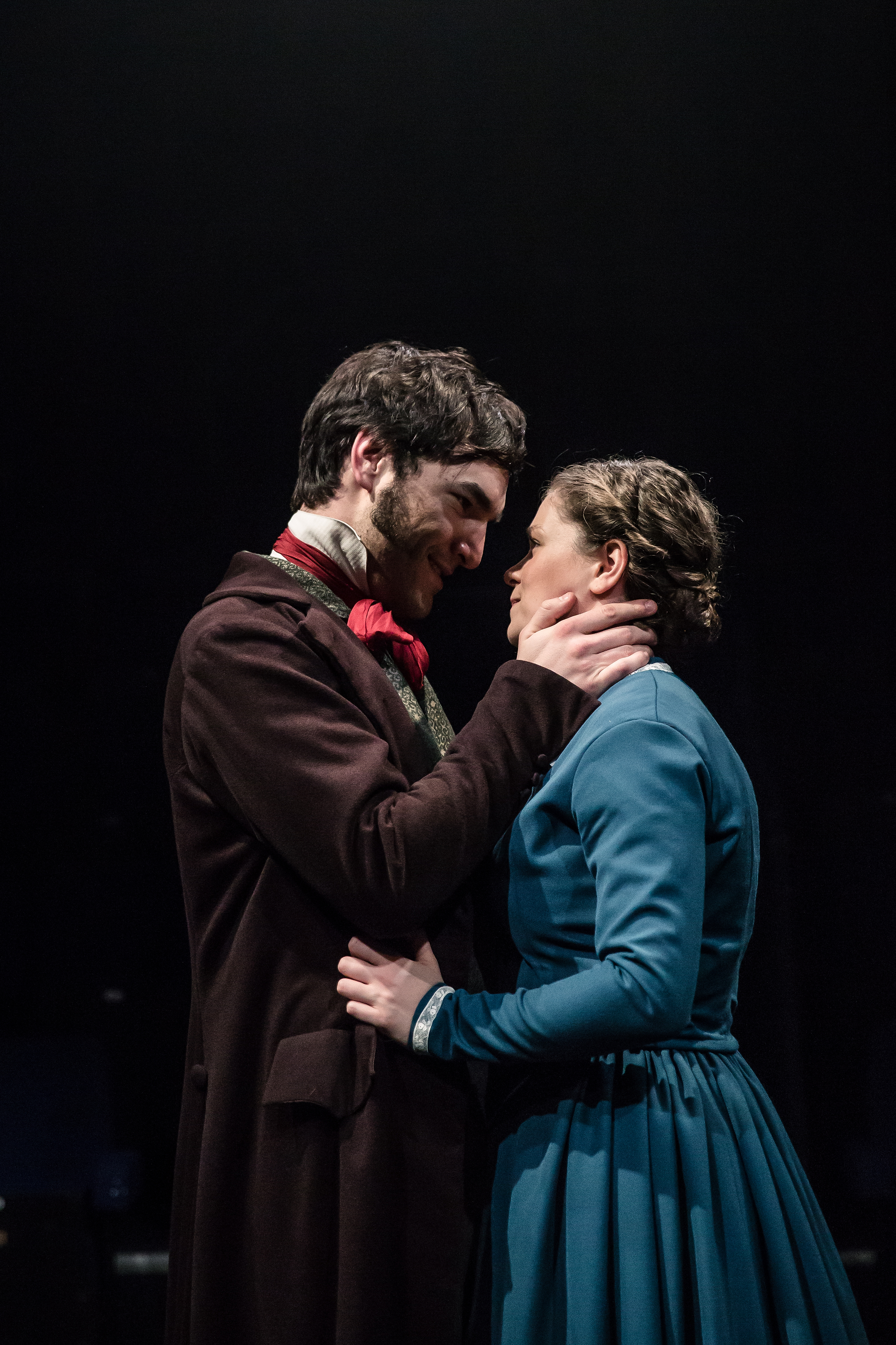 Michael Peavoy as Mr Rochester and Jessica Baglow as Jane Eyre. Photo: The Other Richard