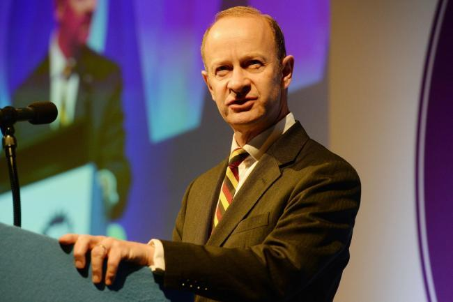 EMBATTLED: Ukip leader Henry Bolton is facing growing pressure to quit (Ben Birchall/PA)