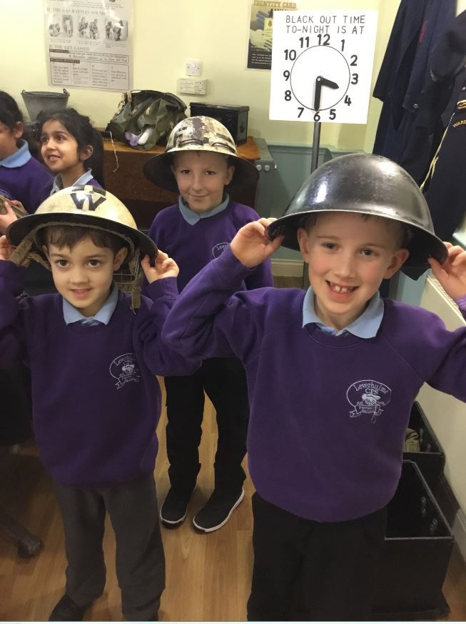 INSIGHT: Pupils at Leverhulme Primary School enjoy a trip to wartime air raid shelters