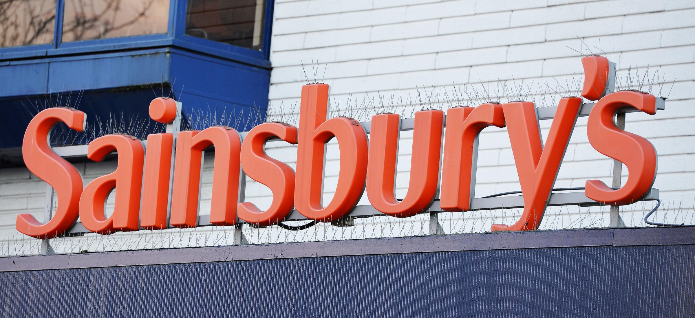 File photo dated 12/01/16 of a Sainsbury's store sign, as the supermarket has announced that a management shake up is putting thousands of jobs at risk. PRESS ASSOCIATION Photo. Issue date: Tuesday January 23, 2018. See PA story CITY Sainsburys. Photo