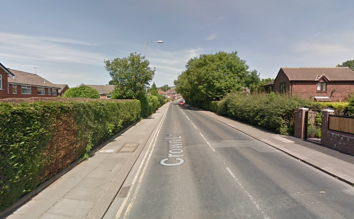 RESURFACING: Crown Lane in Horwich will be closed at the end of February Picture Google Maps