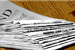 The Bolton News: Newspaper Delivery Stack