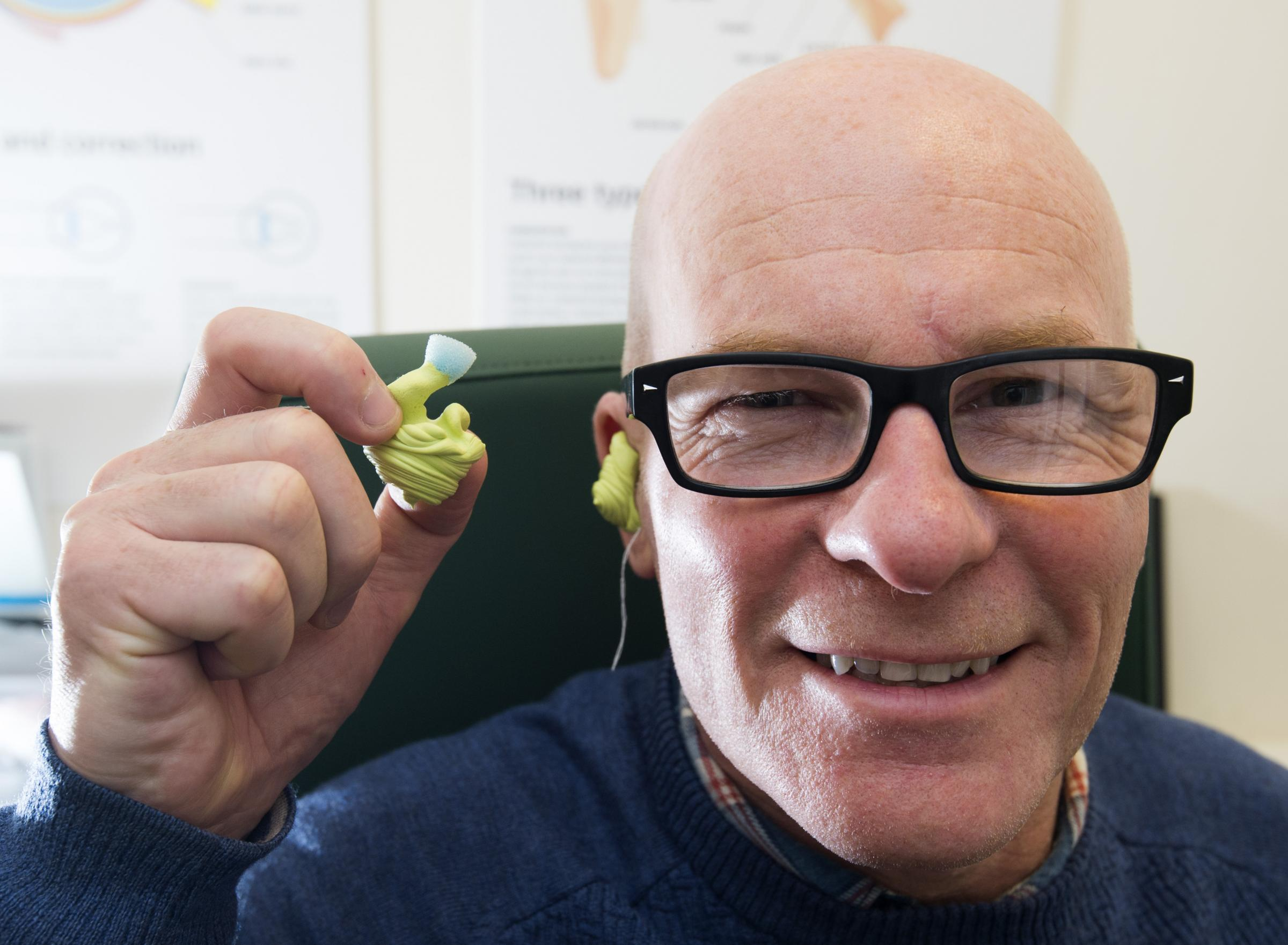 838435c15593 Kilmarnock soul DJ gives hearing protection a spin with Specsavers for  Tinnitus Awareness Week