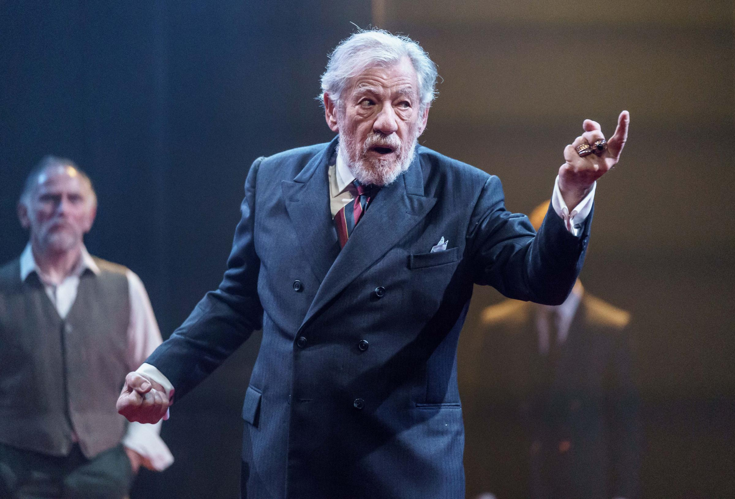 Undated handout photo of Sir Ian McKellen in the title role of King Lear at the Chichester Festival Theatre as the production is transferring to the West End to the stage where he made his West End debut. PRESS ASSOCIATION Photo. Issue date: Thursday Febr