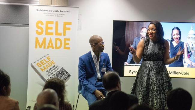 EVENT: Bianca Miller-Cole and husband Byron Cole will be appearing in Bolton