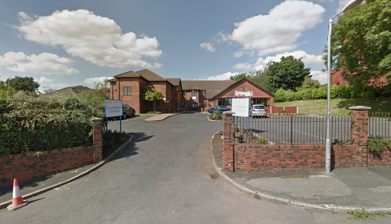 St Catherines Nursing Home in Horwich Picture Google Maps